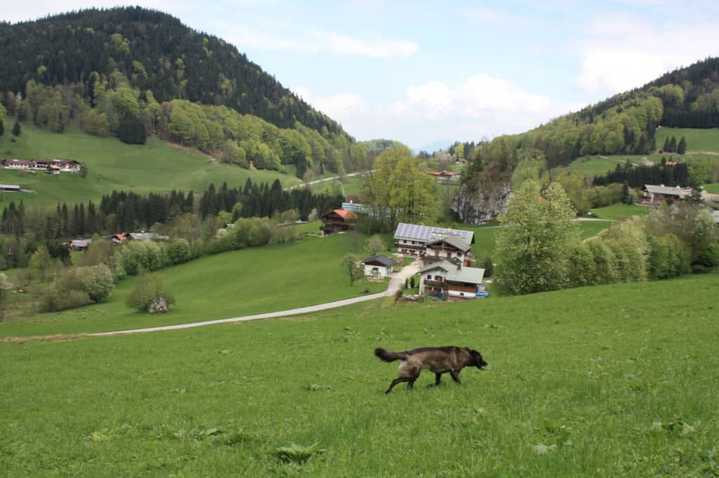 Oberau bei Berchtesgaden